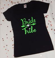 Women's Bride Tribe Personalised Polo Shirt